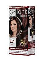 Стойкая крем-краска для волос GALANT IMAGE 3.51 Черешня