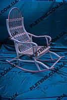 Кресло-качалка разборная из лозы