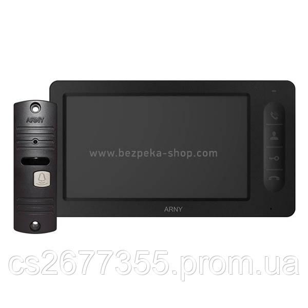 Комплект AVD-7005 чорний/коричневий
