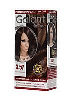 Стойкая крем-краска для волос GALANT IMAGE 3.57 Горячий Шоколад
