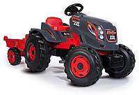 Трактор Smoby XXL з причепом 710200