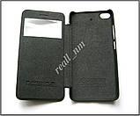 Оригинальный чехол книжка для Xiaomi Mi5s, чехол Nillkin QIN черный эко кожа, фото 3