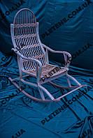 Кресло-качалка розборная из лозы