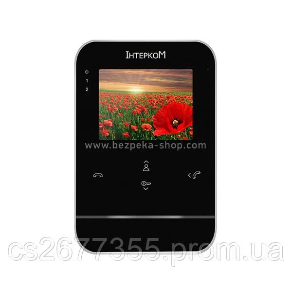 Відеодомофон Інтерком IM-01 чорний