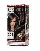 Стойкая крем-краска для волос GALANT IMAGE 3.58 Пепельно-Коричневый