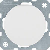 Розетка з з/к, кришка, зах.контактів, 16А/250В, пол.білизна, R.x (47512089)