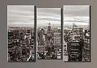 "Картина модульная на холсте ""New York City"" HAT-025"