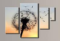 Картина модульная на холсте Одуванчик HAF-032
