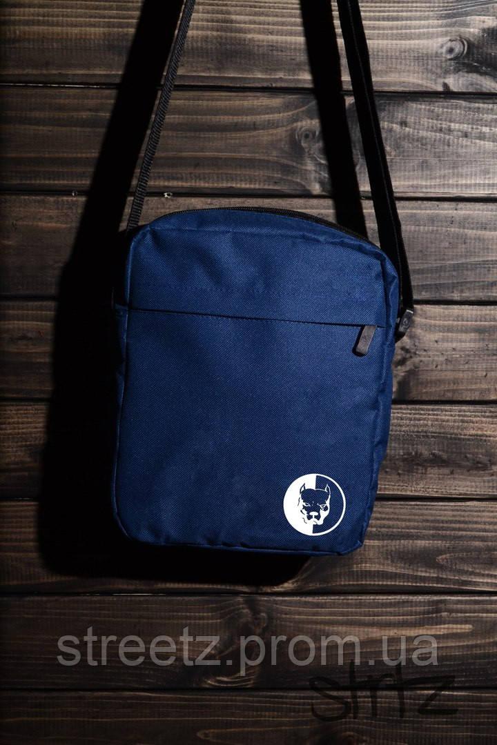 PitBull Messenger Bag Сумка Мессенджер