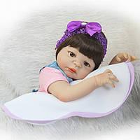 Силиконовая Коллекционная Кукла Реборн Reborn Мальчик ( Виниловая Кукла ) Арт.1051, фото 1