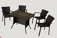 Набор стол разборной и 4 стула GG