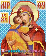 Алмазная вышивка 24х20 икона Дева Мария с Иисусом