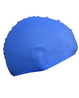Шапочка для плавания Grilonq синяя 4602