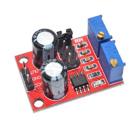 Генератор импульсов сигналов на чипе NE555, модуль для Arduino, фото 2