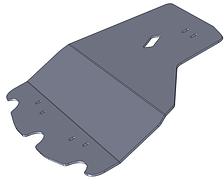 Защита двигателя Subaru Legacy (2003-2009) субару легаси