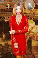 Шикарное женское платье с вышивкой ручной работы,цвет красный,сирень