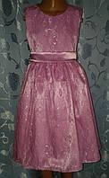 Нарядное детское платье «Нежность»