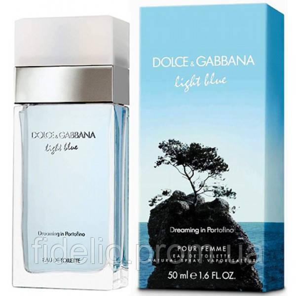 Dolce & Gabbana Light Blue Dreaming in Portofino Woman 100 ml. Женская туалетная вода