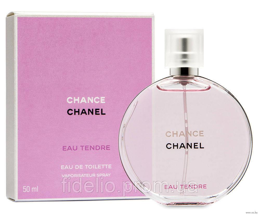 Chanel Tendre 50 ml. Женская туалетная вода