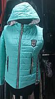 Короткая молодежная куртка женская Стелла