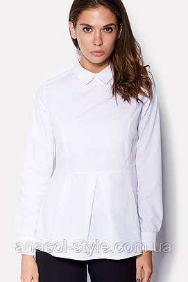 """Рубашка """"BIANI"""" белая осень"""