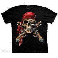 3-D футболка SKULL & MUSKETS