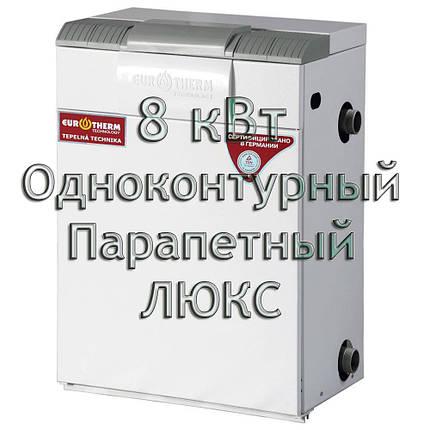 Газовый котел парапетный Евротерм Колви 08 TSY A (CPF B) ЛЮКС, фото 2