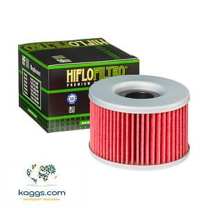 Масляный фильтр Hiflo HF111 для Honda