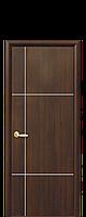 """Дверное полотно """"Ника"""" Silver. Исполнение:глухое с гравировкой Silver"""