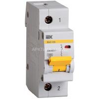IEK Автоматический выключатель ВА 47-100 1Р 25А MVA40-1-025-C