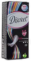 Ежедневные гигиенические прокладки Discreet Deo Irresistible Multiform 20 шт.