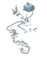 Прокладка выпускного коллектора (патрубка сис-мы EGR) и радиатора охлаждения отработанных газов Caddy III 2,0SDI/T5 2,5TDI (AXD,AXE)  VW