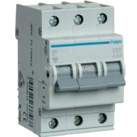 Hager Автоматический выключатель In=16А, 3п MC316A