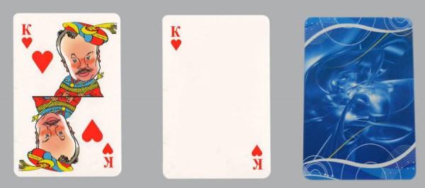 Игральные карты сувенирные под сублимацию