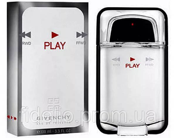 Givenchy Play Men 100 ml. Мужская туалетная вода