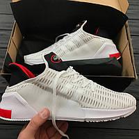 Кроссовки Adidas Climacool all white. Живое фото. Топ качество! (адидас климакул)