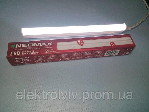 Светильник LED линейний 5w NEOMAX, фото 2