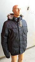 Мужская зимняя курточка с мехом