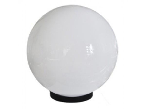Садово-парковый светильник шар опал 350мм