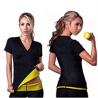 Футболка для похудения Hot Shapers, футболка женская с эффектом сауны
