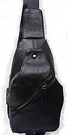 Стильный рюкзак на одно плечо из кожзама D169#