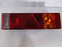 Фонарь задний универсальный EM 0030 LR51T (7 секций) с треугольником