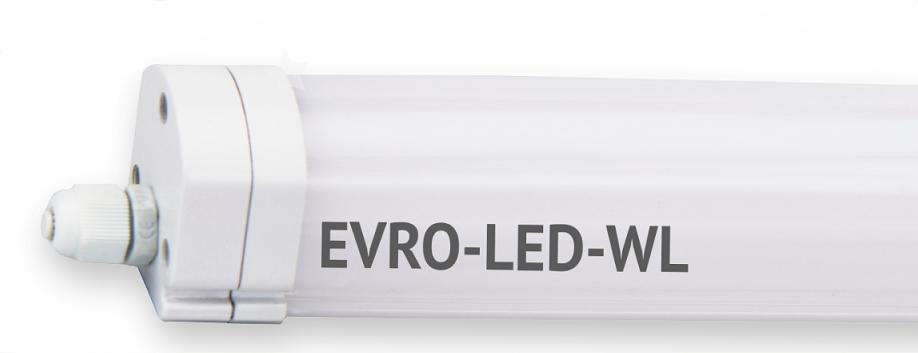 Светодиодный LED светильник WL36 36W 6400К 1200мм 2880Lm IP65 промышленный герметичный