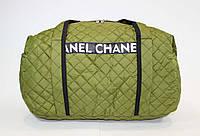 Женская спортивная сумка зеленого цвета