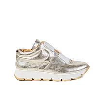 Туфли женские спортивные Aura 3396700. золот. кож., фото 1