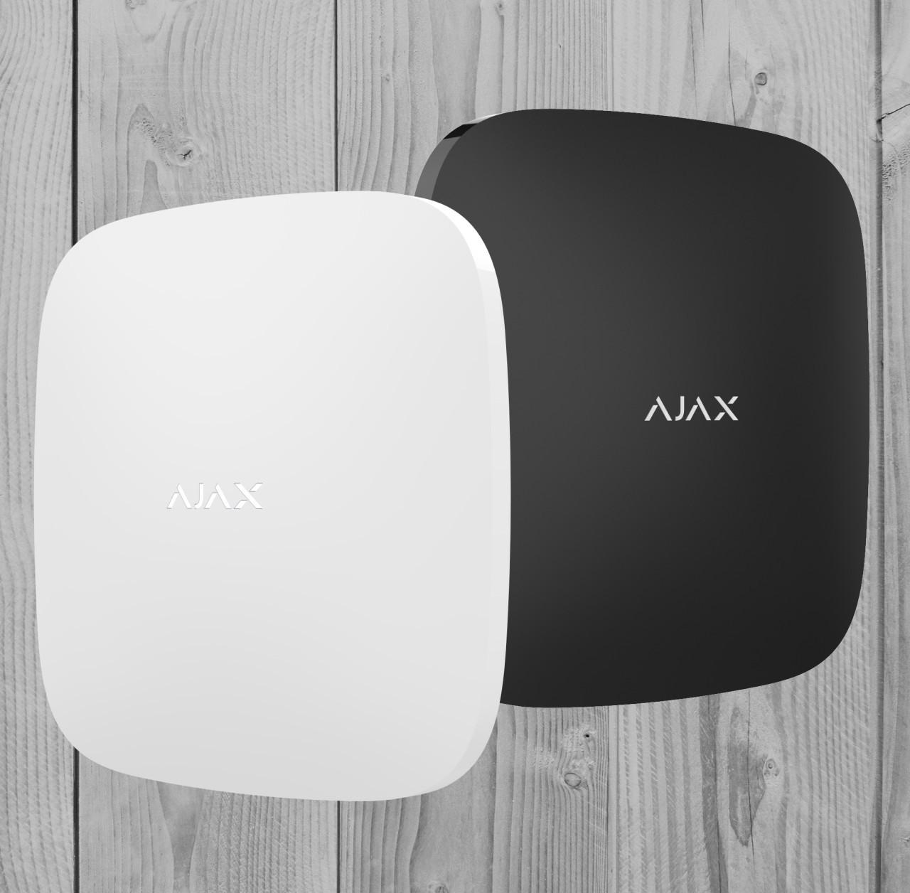 Беспроводной датчик затопления Ajax LeaksProtect (белый, черный)
