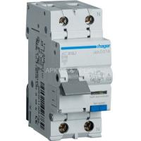 Hager Диф. выключатель 1+N, 16A, 10 mA, B, 6 КА, A, 2м AC916J