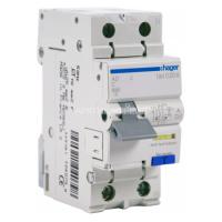 Hager Диф. выключатель 1+N, 16A, 30 mA, С, 6 КА, A, 2м AD966J