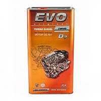 Моторное масло EVO TURBO DIESEL D7 5W-40 5L