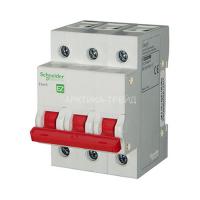 Schneider Выключатель нагрузки 3Р, 400В, 63А, 5кА, EZ9 EZ9S16363